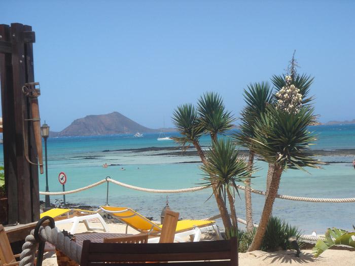 Corralejo op het Canarische eiland Fuerteventura biedt prachtige uitzichten.