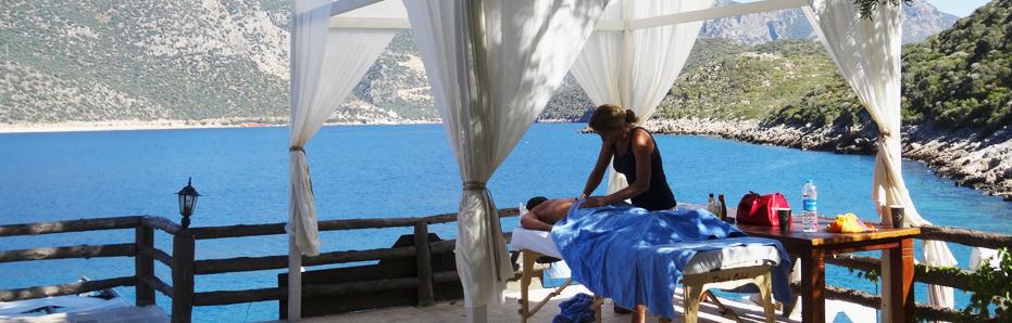 Een heerlijk ontspannen massage bij Health Holidays in Turkije