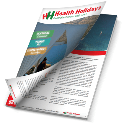 Brochure 2018 van Health Holidays