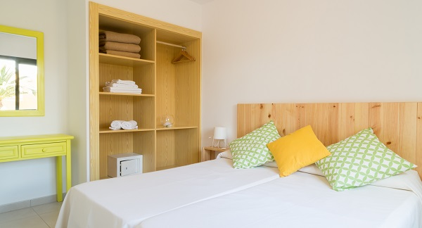 Uw slaapkamer bij Health Holidays in Atlantic Garden Beach Resort